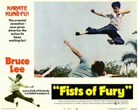 Fists of Fury - 11 x 14 Movie Poster - Style D