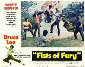 Fists of Fury - 11 x 14 Movie Poster - Style E