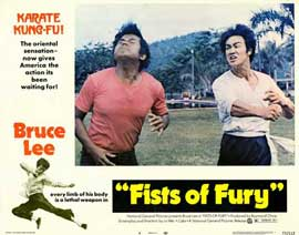 Fists of Fury - 11 x 14 Movie Poster - Style F