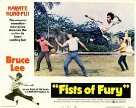 Fists of Fury - 11 x 14 Movie Poster - Style G