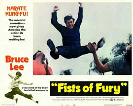 Fists of Fury - 11 x 14 Movie Poster - Style H