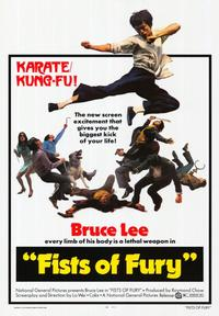 Fists of Fury - 43 x 62 Movie Poster - Bus Shelter Style A