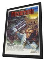 Fitzcarraldo - 27 x 40 Movie Poster - German Style A - in Deluxe Wood Frame