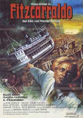 Fitzcarraldo - 11 x 17 Movie Poster - German Style A