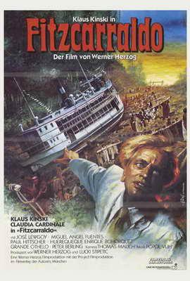 Fitzcarraldo - 27 x 40 Movie Poster - German Style A
