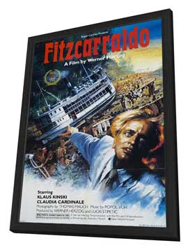 Fitzcarraldo - 27 x 40 Movie Poster - Style A - in Deluxe Wood Frame