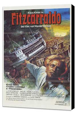 Fitzcarraldo - 27 x 40 Movie Poster - German Style A - Museum Wrapped Canvas