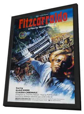 Fitzcarraldo - 11 x 17 Movie Poster - Style A - in Deluxe Wood Frame