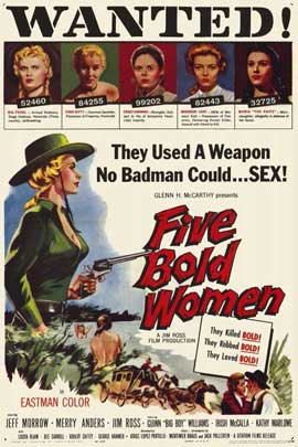 Five Bold Women - 11 x 17 Movie Poster - Style A