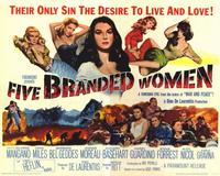 Five Branded Women - 11 x 14 Movie Poster - Style A