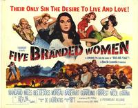 Five Branded Women - 22 x 28 Movie Poster - Half Sheet Style A