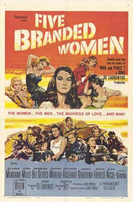 Five Branded Women - 27 x 40 Movie Poster - Style A