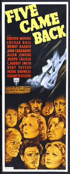 Five Came Back - 11 x 17 Movie Poster - Style A