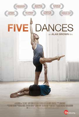 Five Dances - 11 x 17 Movie Poster - Style A