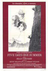 Five Days One Summer - 11 x 17 Movie Poster - Style A