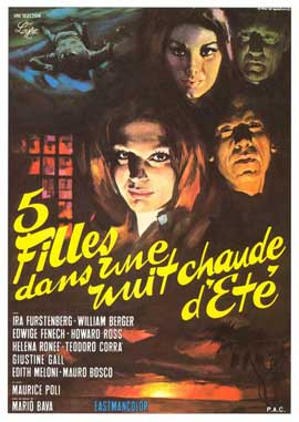 Five Dolls for an August Moon - 27 x 40 Movie Poster - French Style A