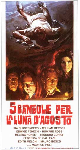 Five Dolls for an August Moon - 20 x 40 Movie Poster - Italian Style B