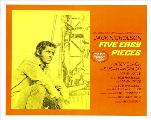 Five Easy Pieces - 30 x 40 Movie Poster - Style A