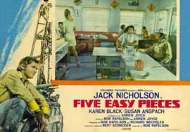 Five Easy Pieces - 11 x 17 Movie Poster - Italian Style A