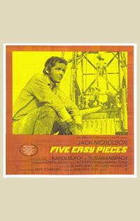 Five Easy Pieces - 11 x 17 Movie Poster - Style E