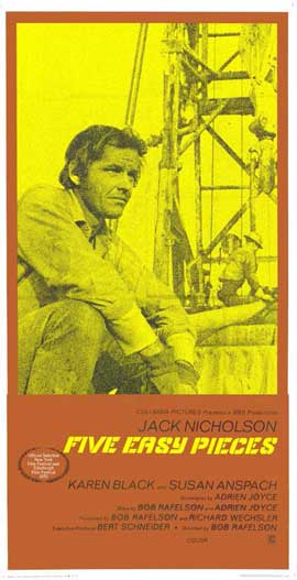 Five Easy Pieces - 11 x 17 Movie Poster - Style C