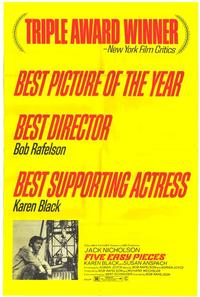 Five Easy Pieces - 11 x 17 Movie Poster - Style B