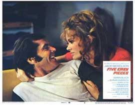 Five Easy Pieces - 11 x 14 Movie Poster - Style B