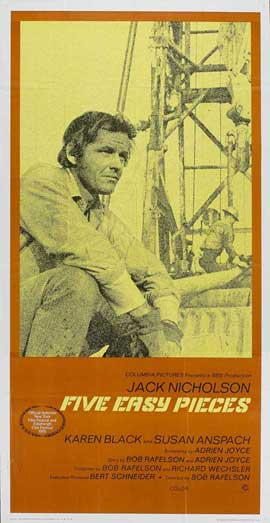 Five Easy Pieces - 20 x 40 Movie Poster - Style A