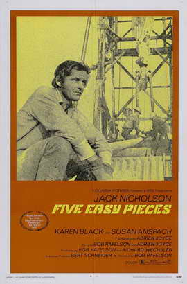 Five Easy Pieces - 27 x 40 Movie Poster - Style A