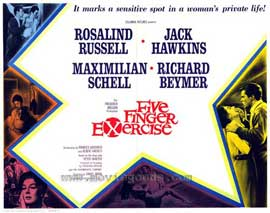 Five Finger Exercise - 27 x 40 Movie Poster - Style A