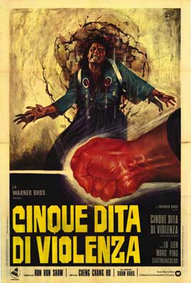 Five Fingers of Death - 27 x 40 Movie Poster - Italian Style A