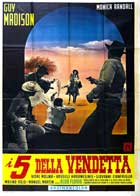 Five for Revenge - 27 x 40 Movie Poster - Italian Style A