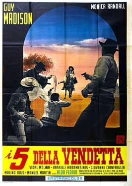 Five for Revenge - 11 x 17 Movie Poster - Italian Style A