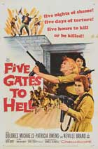 Five Gates to Hell - 11 x 17 Movie Poster - Style A