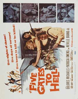 Five Gates to Hell - 11 x 14 Movie Poster - Style A