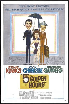 Five Golden Hours - 27 x 40 Movie Poster - Style B