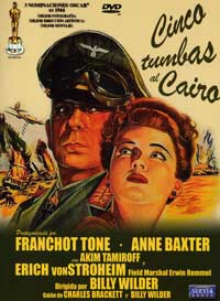 Five Graves to Cairo - 27 x 40 Movie Poster - Spanish Style A