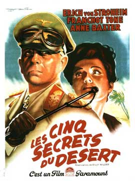 Five Graves to Cairo - 11 x 17 Movie Poster - French Style A