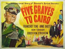 Five Graves to Cairo - 11 x 17 Movie Poster - UK Style A