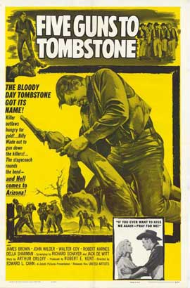 Five Guns to Tombstone - 11 x 17 Movie Poster - Style A