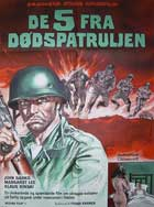 Five Into Hell - 11 x 17 Movie Poster - Danish Style A