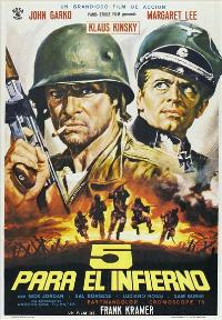 Five Into Hell - 27 x 40 Movie Poster - Spanish Style A