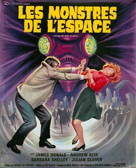 Five Million Years to Earth - 11 x 17 Movie Poster - French Style A