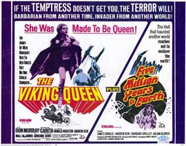 Five,Million Years to Earth/The Viking Queen - 11 x 14 Movie Poster - Style A