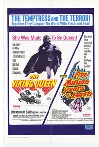 Five,Million Years to Earth/The Viking Queen - 11 x 17 Movie Poster - Style A