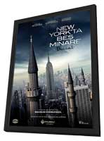 Five Minarets in New York - 27 x 40 Movie Poster - Turkish Style A - in Deluxe Wood Frame