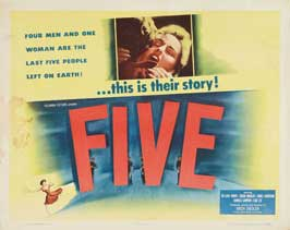 Five - 22 x 28 Movie Poster - Half Sheet Style A