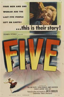 Five - 11 x 17 Movie Poster - Style A