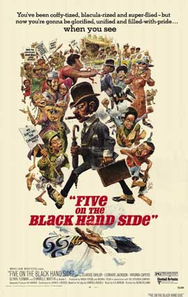 Five on the Black Hand Side - 11 x 17 Movie Poster - Style A