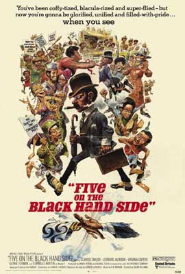 Five on the Black Hand Side - 27 x 40 Movie Poster - Style A